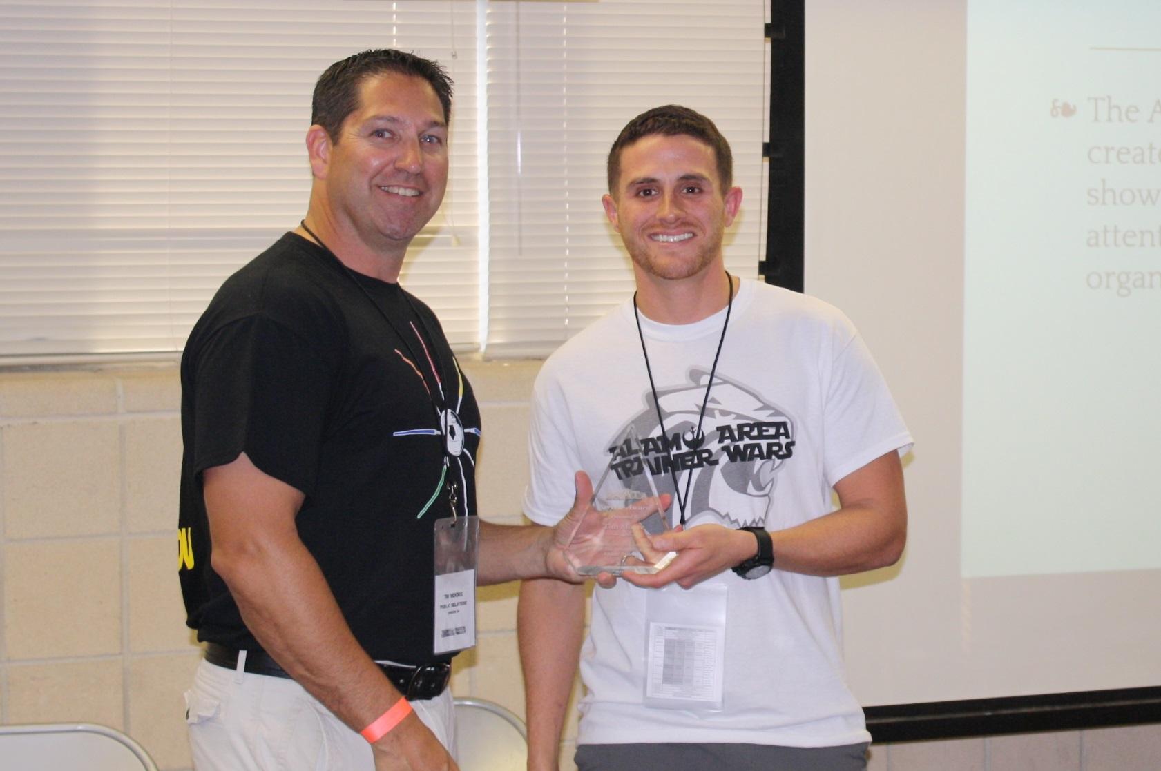 Moore - Service Award 2016