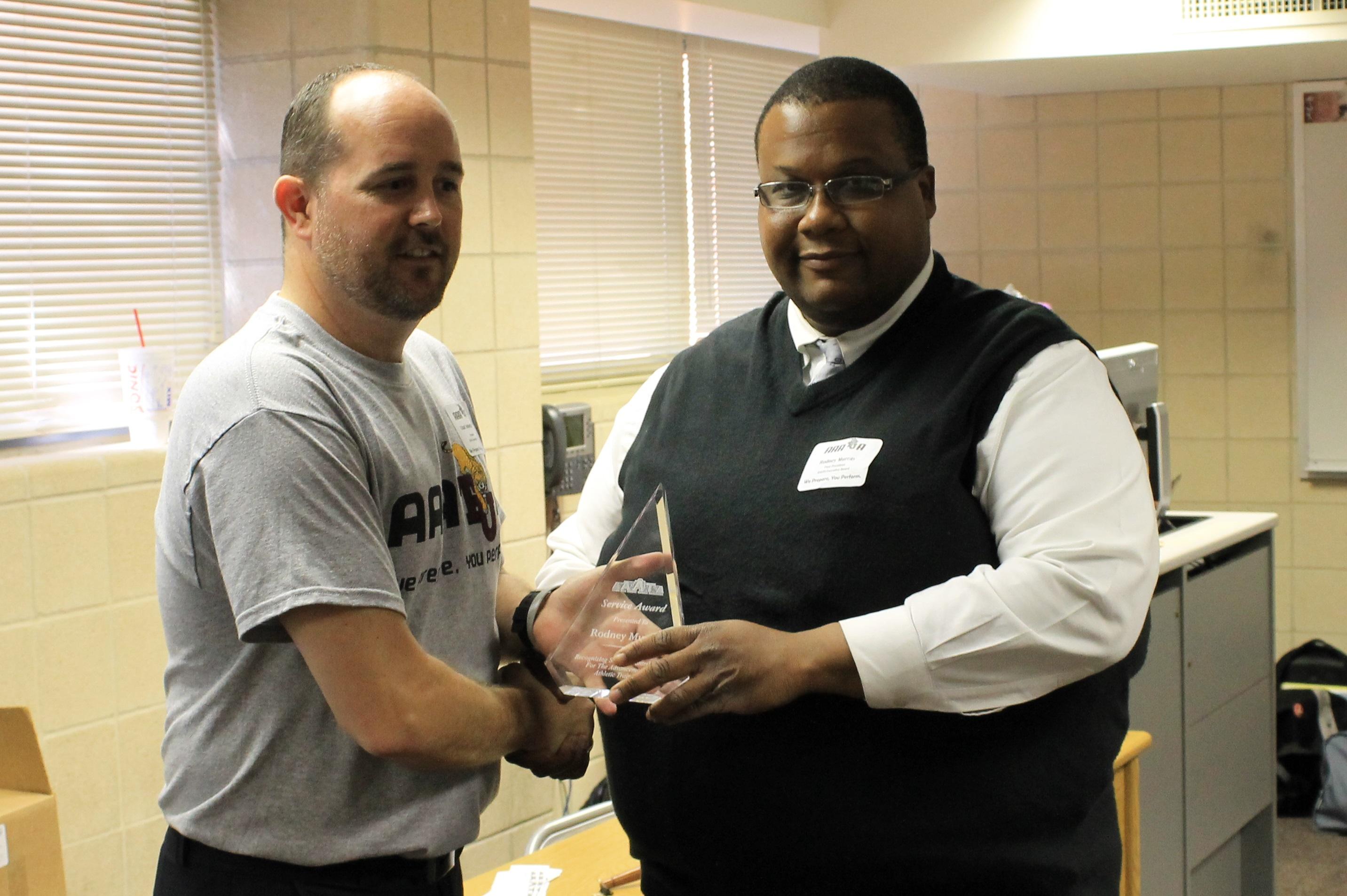 Murray - Service Award 2015